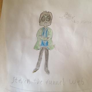 Steven the Funnel web (Undertale OC) by evildalek79