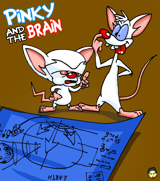 Pinky and the Brain by theEyZmaster