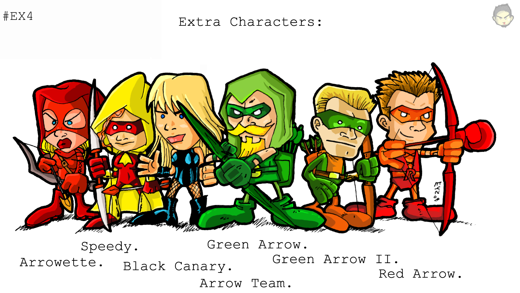Team Arrow Dc Comics