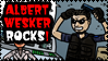 Stamp RE Wesker by theEyZmaster
