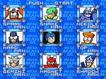 Mega Man 3 Menu - HD remake