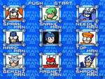 Mega Man 3 Menu - HD remake