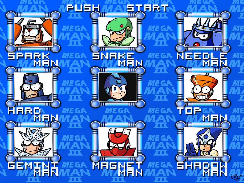 mega man 3 menu   hd remake by theeyzmaster d365vlq Young cock suckers
