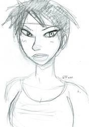 Jade portrait by theEyZmaster