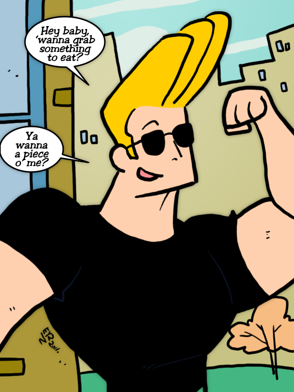 Johnny Bravo by theEyZmaster on DeviantArt