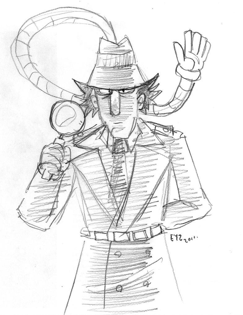 go go gadget detective by theeyzmaster