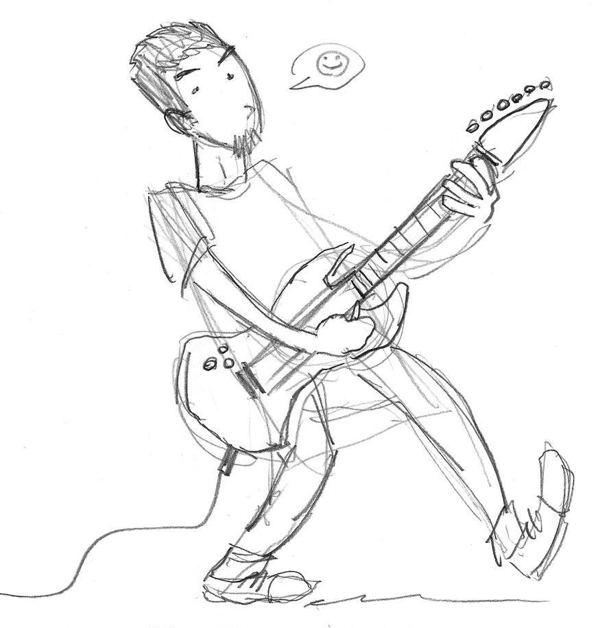 Eyz guitar by theEyZmaster