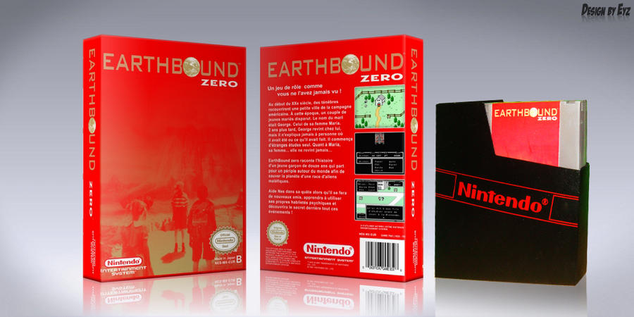 Earthbound CustomCoverArt by theEyZmaster