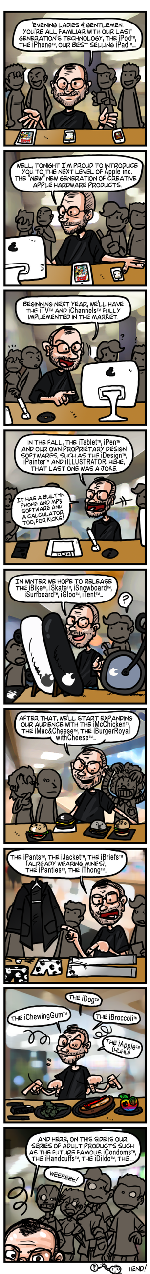 COMIX Steve Jobs by theEyZmaster