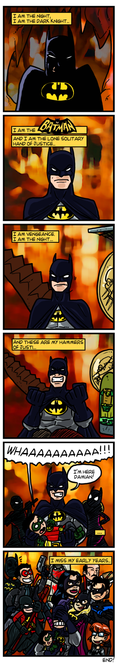 COMIX The Lone Caped Crusader by theEyZmaster