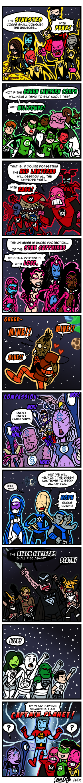 COMIX Rainbow Lanterns by theEyZmaster