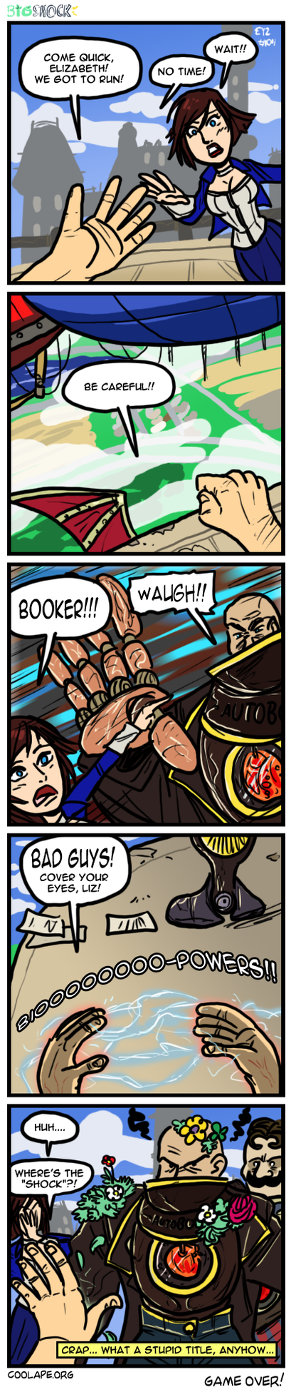 COMIX Bioshock by theEyZmaster