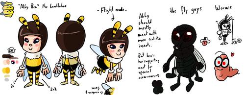 CharacterSheet - Abby 1 by theEyZmaster
