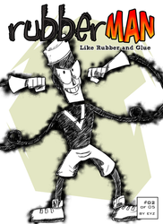 COMIX RubberMan Episode 2 Cover by theEyZmaster