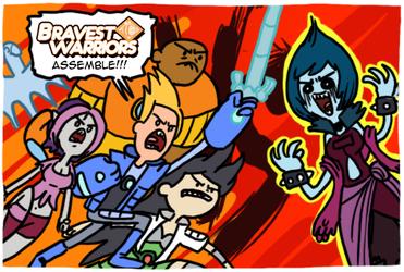 Bravest Warriors Vol. 1 by theEyZmaster