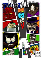 COMIX RubberMan Episode 4 Cover by theEyZmaster