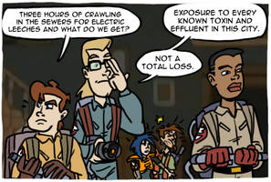 Extreme Ghostbusters by theEyZmaster