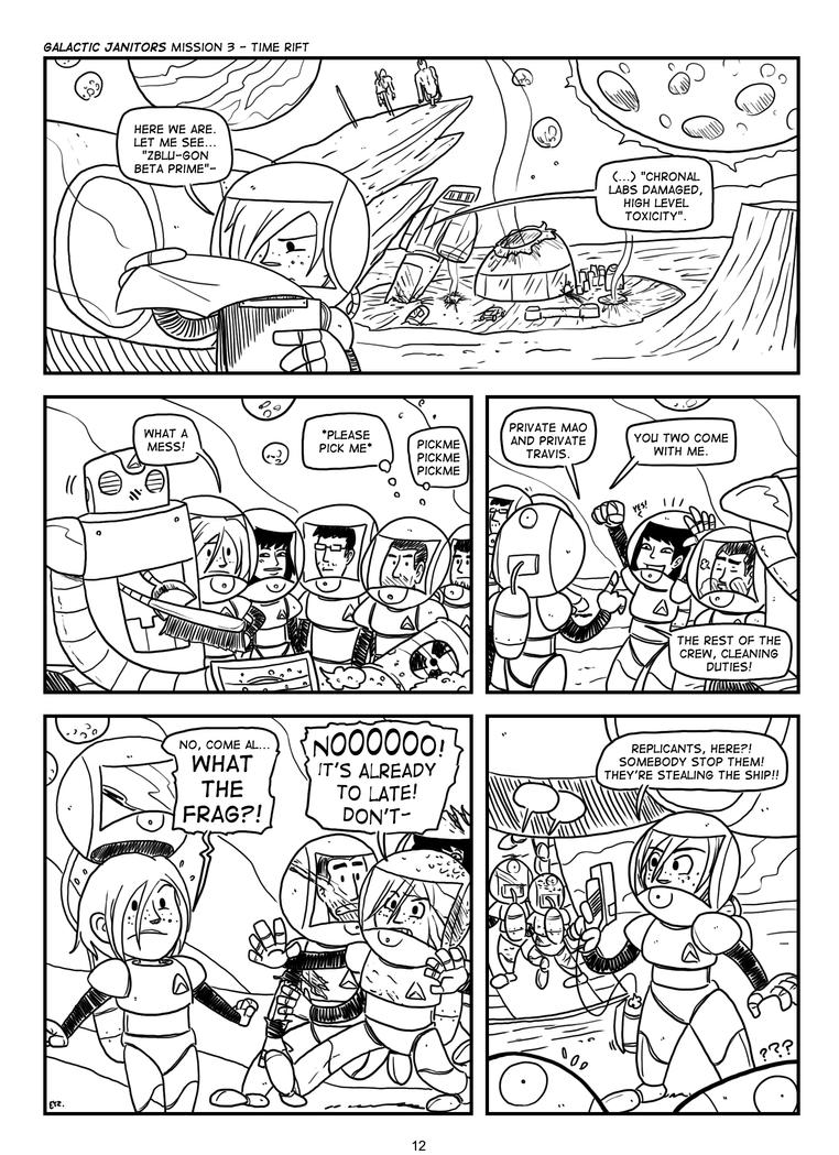 COMIX Galactic Janitors P12 by theEyZmaster