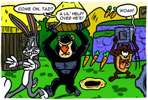 Bugs Bunny and Taz Time Busters by theEyZmaster