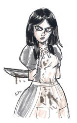DSC 2014-09-01 American McGee's Alice by theEyZmaster