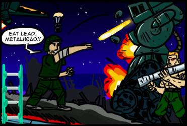 The Terminator (Mega Drive) by theEyZmaster