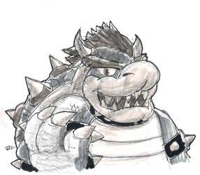 DSC 2014-09-02 King Koopa by theEyZmaster