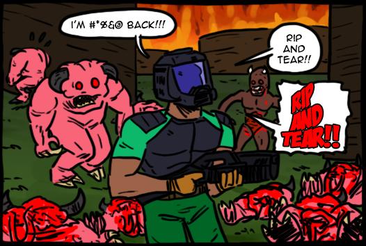 Imagenes curiosas de DOOM o al Foro y sus usuarios! Doom_64_by_theeyzmaster-d80mc7r