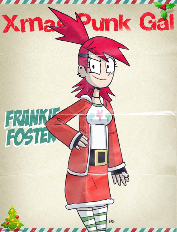 #XmasPunkGal - Frankie by theEyZmaster