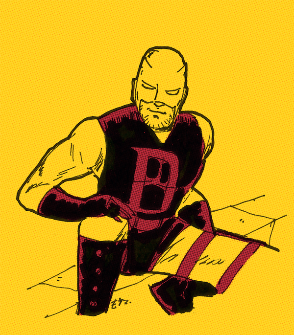 netflix daredevil coloring pages - photo#24