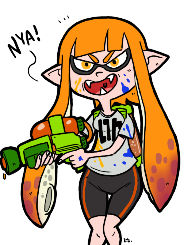 Splatoon Inkling 02 By Theeyzmaster On Deviantart