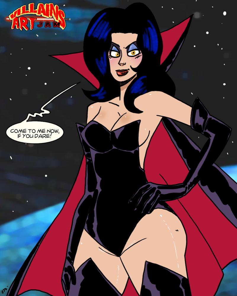 VillainsArtJam 2015 08 Dark Queen by theEyZmaster on ...