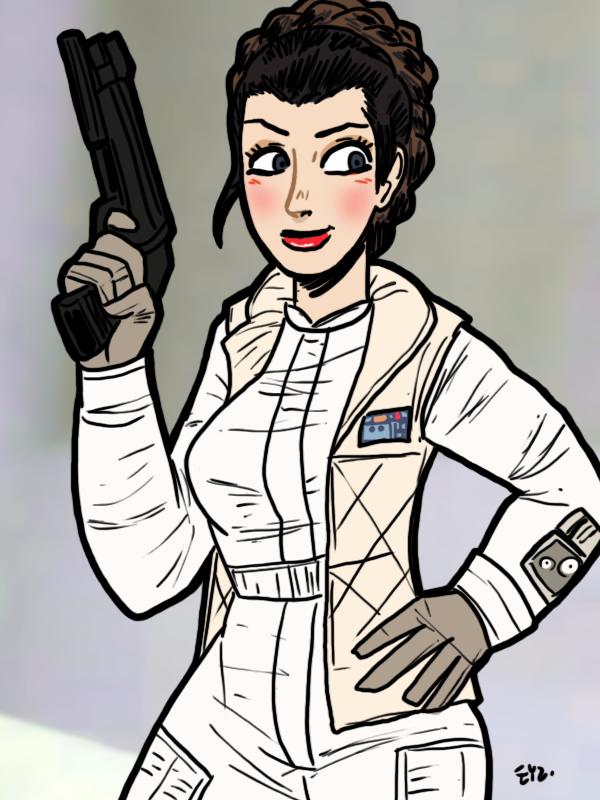 SW Leia Organa 04 by theEyZmaster