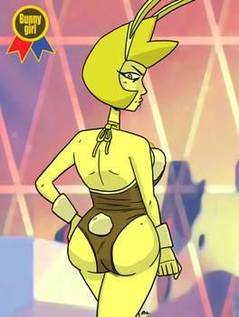 Bunny Girl Jam 2016 02  Yellow Diamond