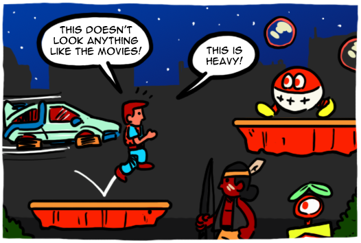Nintendo s back to the future games by theeyzmaster on deviantart