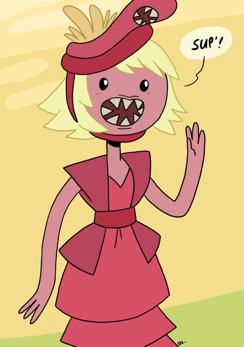 Adventure Time Lamprey Princess 03 By Theeyzmaster On