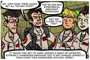 Ghostbusters The Video Game (Stylized version) by theEyZmaster