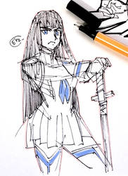 DSC 2017-07-06 Satsuki Kiryuin by theEyZmaster