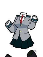 My Hero Academia - Toru Hagakure 01 by theEyZmaster