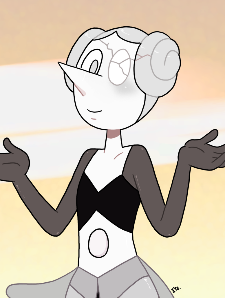 Introducing the very weird, robotic (pink?) White Pearl! Open for commissions! Guidlines: theeyzmaster.deviantart.com/jo… Support me on Ko-fi! ko-fi.com/eyzmaster Art © Eyz 2018. Charac...