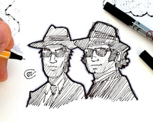 DSC 2018-11-08 The Blues Brothers by theEyZmaster