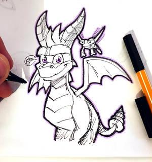 DSC 2019-07-05 Spyro the Dragon