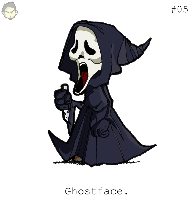 CultChara Ghostface by theEyZmaster