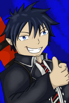 Thumbs up, Demon boy