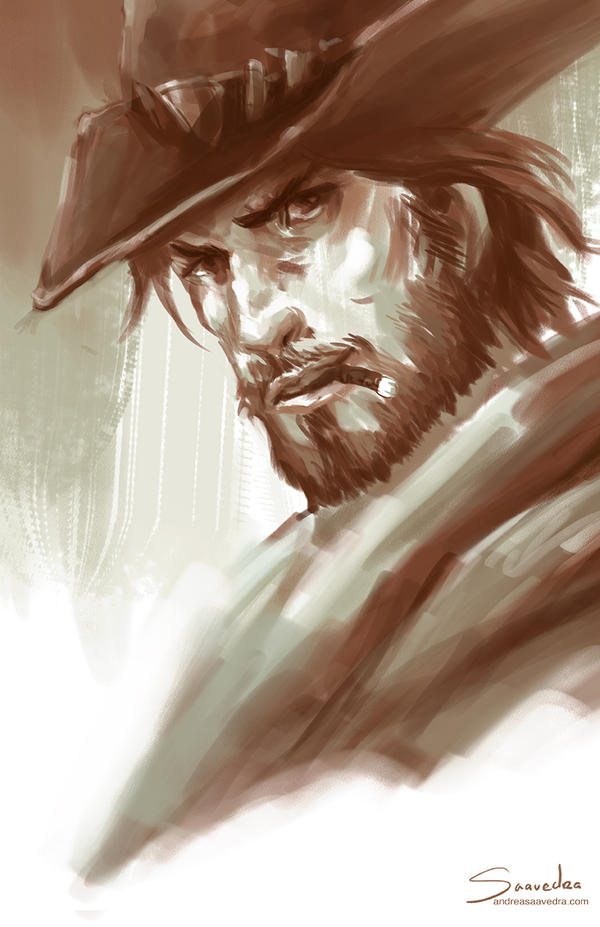 McCree by asaavedraart