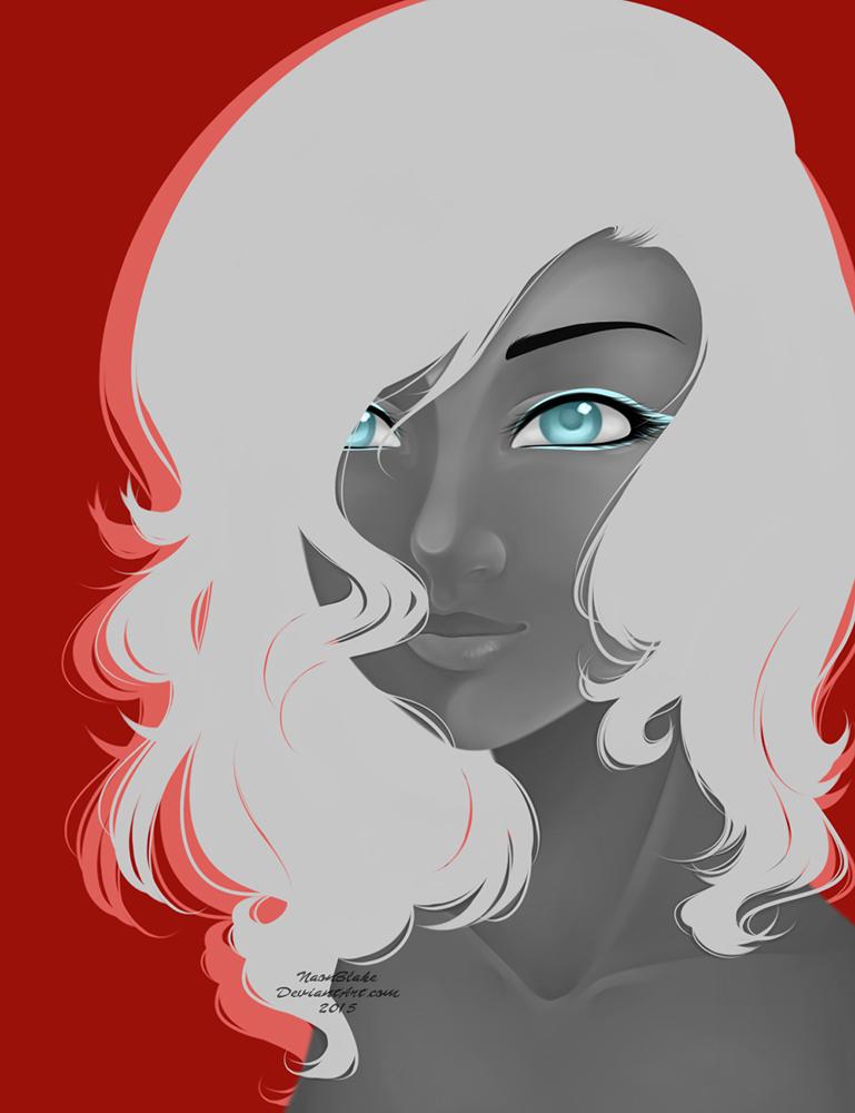 Blue Eyes by NaonBlake