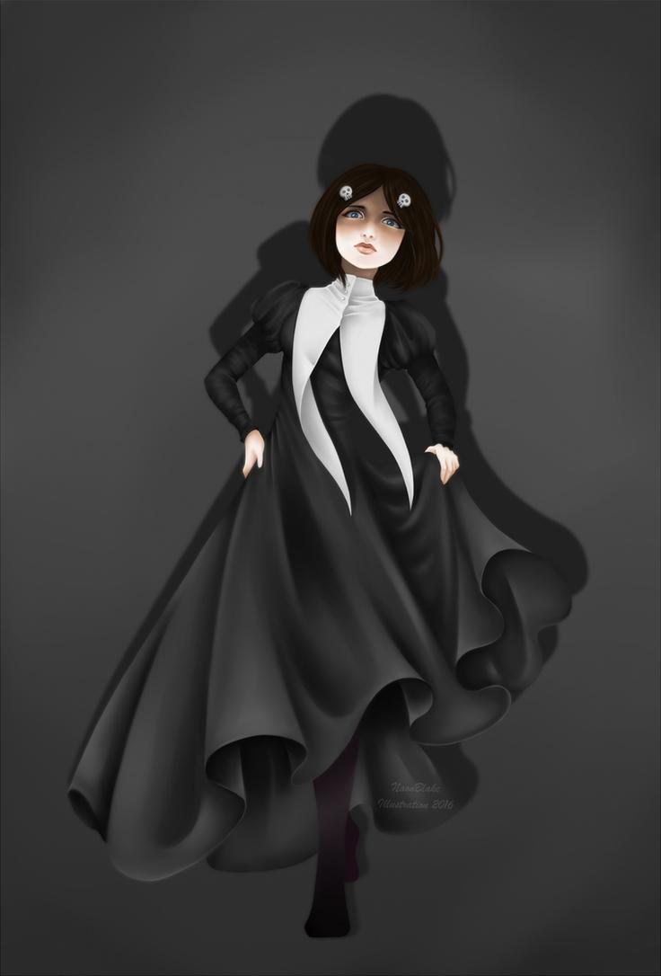 SSJ - Little Dead Girl Elizabeth by NaonBlake