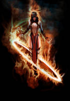 Fire Daughter by goor
