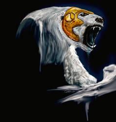 Bear by goor