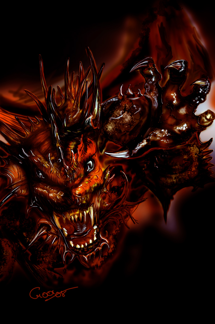 Dragon of Death by goor