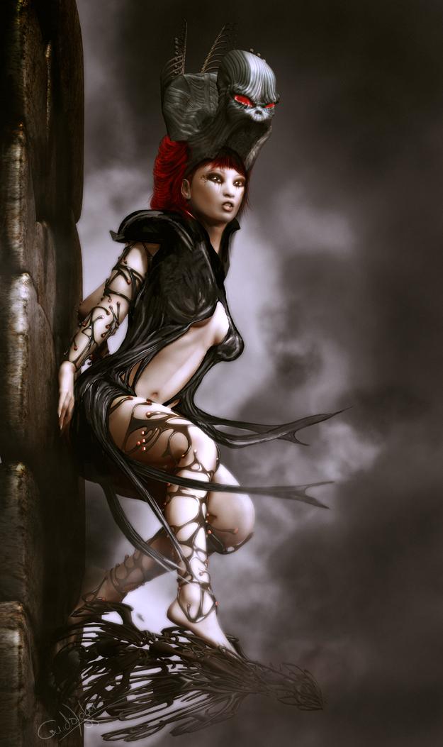 fantasy darkness women